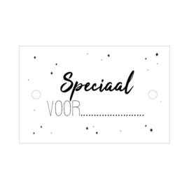 Speciaal voor ... | cadeaukaartje