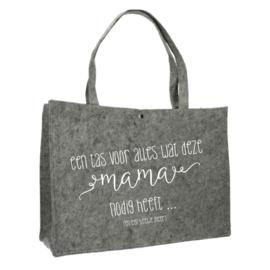 Een tas voor mama | vilten tas