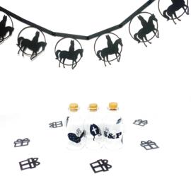 Sinterklaas op paard | slinger