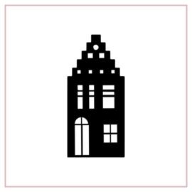 Raamstickers | Huisje 5