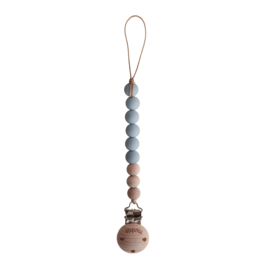 Speenketting Cloud / wood | Mushie
