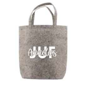 JUF + naam | tote bag