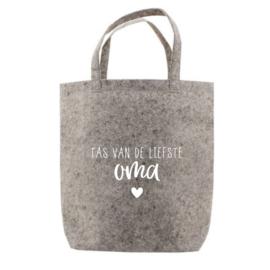 Tas van de liefste oma | tote bag