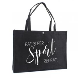 EAT. SLEEP. SPORT | Vilten tas