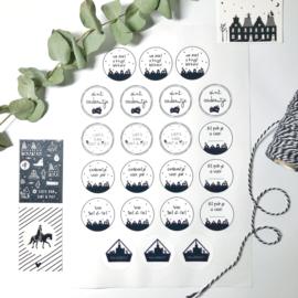 Sluitstickers | Sinterklaas