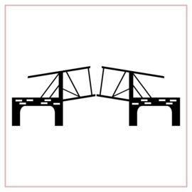 Raamstickers | Ophaalbrug