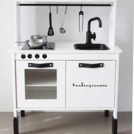 Keukenprinses | keukensticker