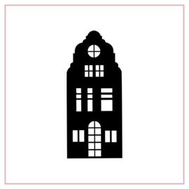 Raamstickers | Huisje 4