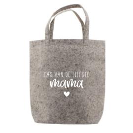 Tas van de liefste mama | tote bag