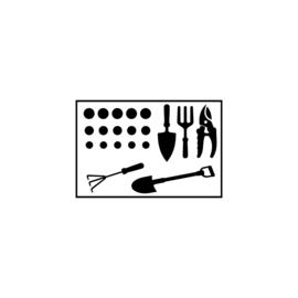 Tuinstickers | DIY-stickers vaderdag