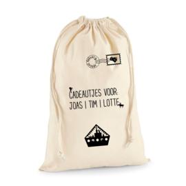 Cadeauzak - boot   Sinterklaas