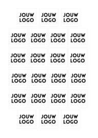 Stickers met logo | sluitstickers