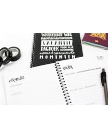 Vakantie dagboek | invulboek