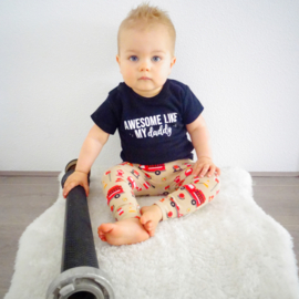 Awesome like my daddy - sterretjes | shirt