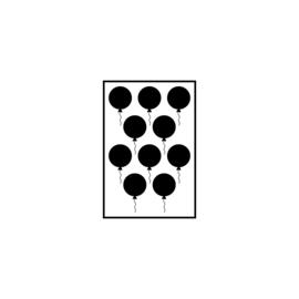 Figuurtjes | ballonnen (4 cm)