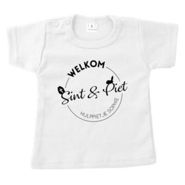 Shirt | Welkom Sint & Piet - hulppietje