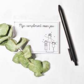 Complimentenblokje | juf