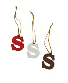 S-hanger met koord