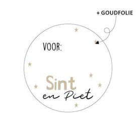Voor- ... Sint&Piet   sticker