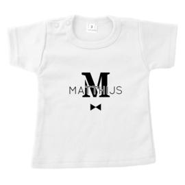 Naam door letter | naamshirt
