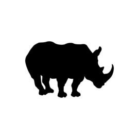 Neushoorn - jungledieren