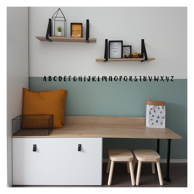 Alfabet lillybelle | muursticker