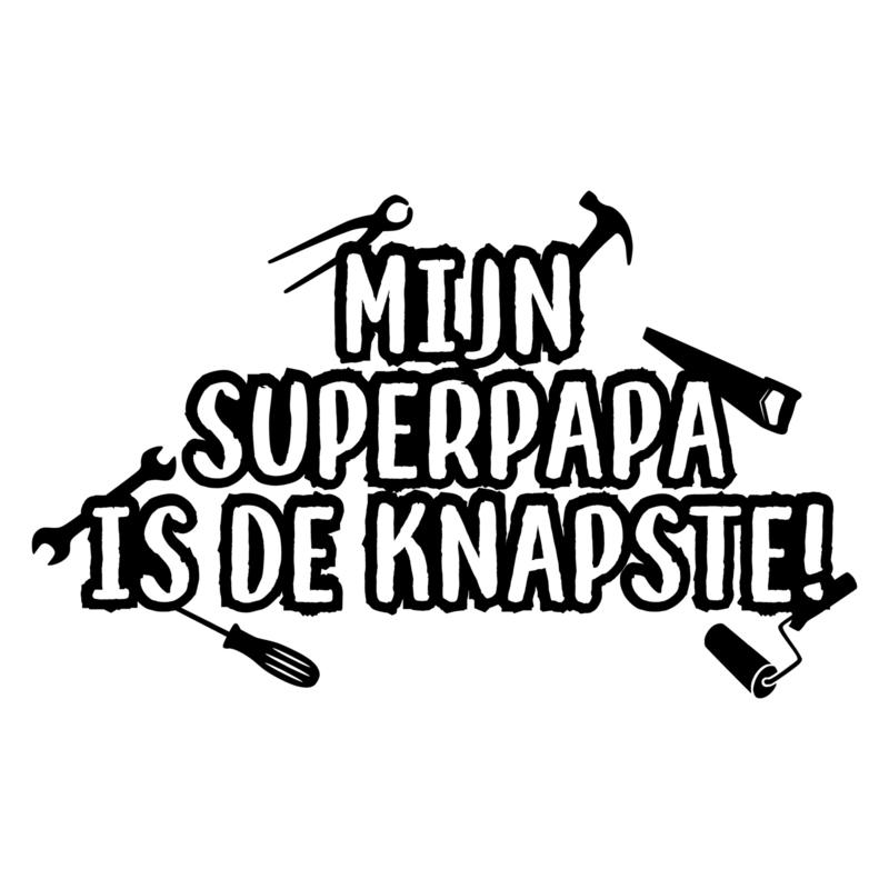 Knapste superpapa | DIY-vaderdag stickers