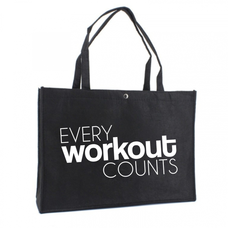 Every workout counts | vilten tas