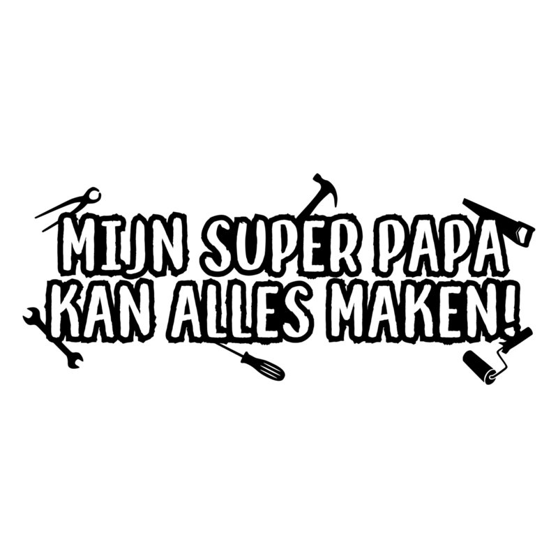 Super papa | DIY-stickers vaderdag