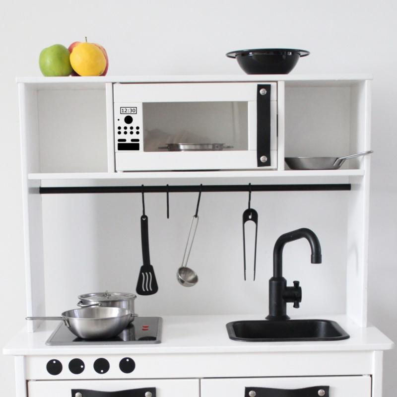 Magnetron knopjes | keukensticker