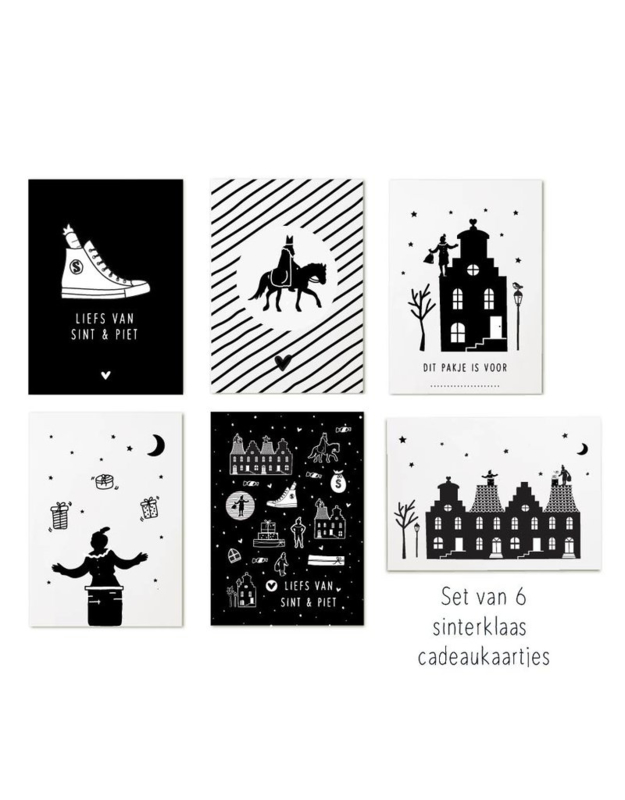 Set minikaartjes | Sinterklaas