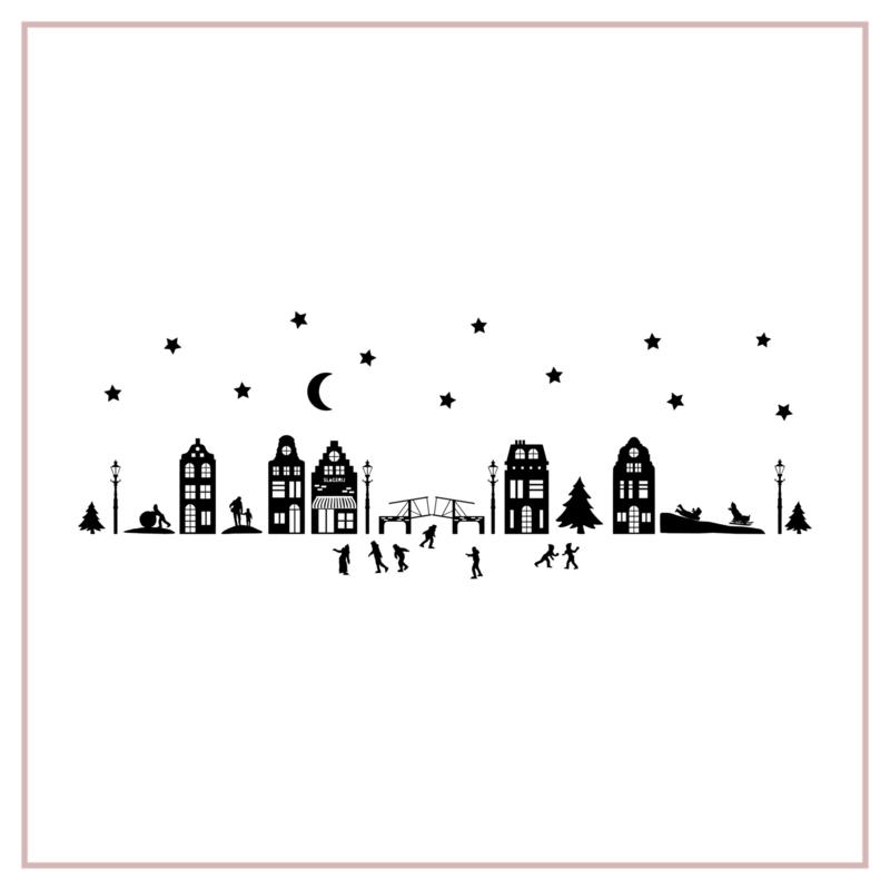 Raamstickers | Winterdorp