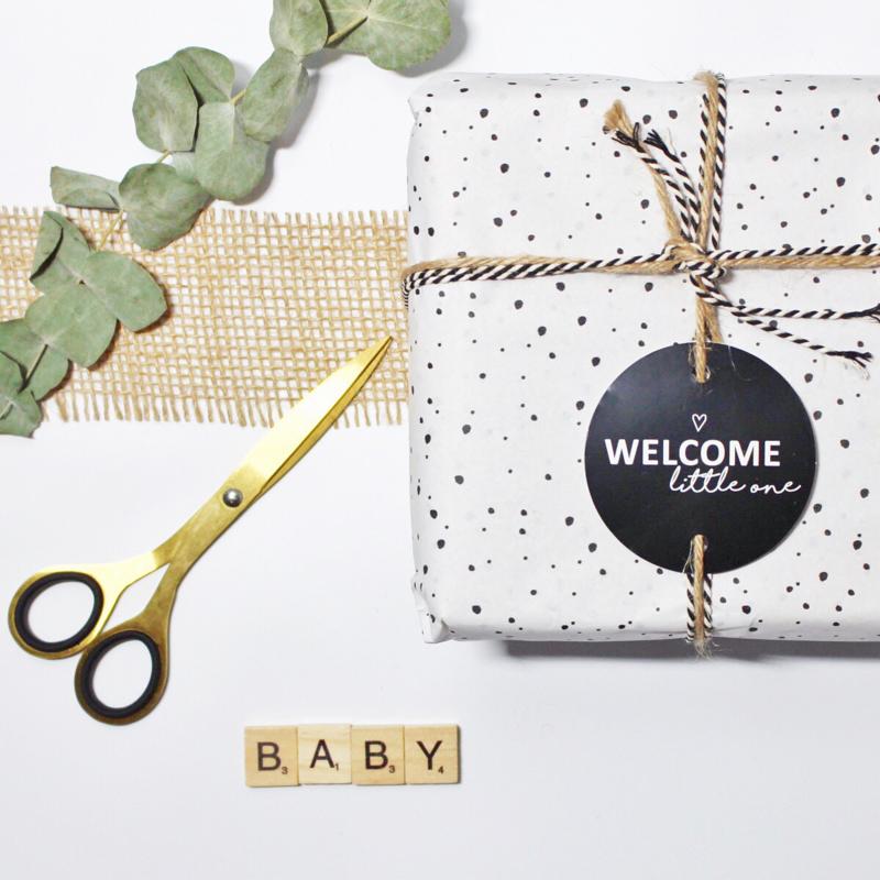 Welcome little one | cadeaukaartje