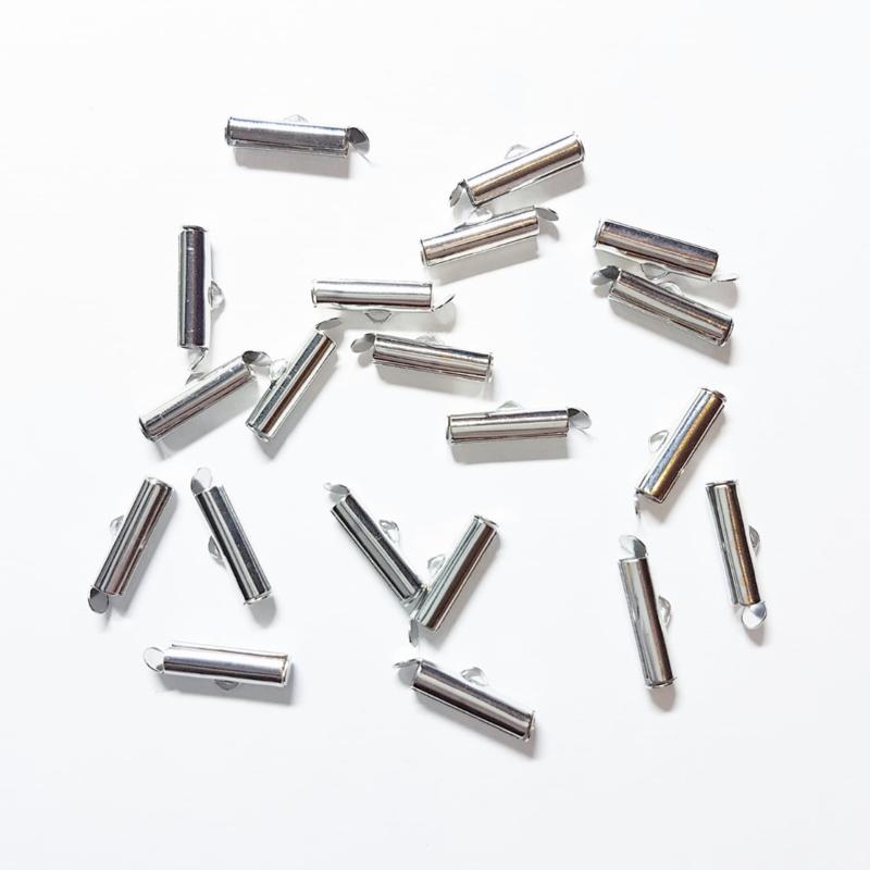 Eindkapjes / slide end tubes 16 mm