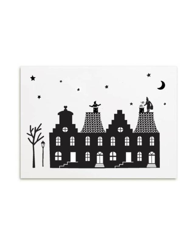 Minikaartje huisjes | Sinterklaas