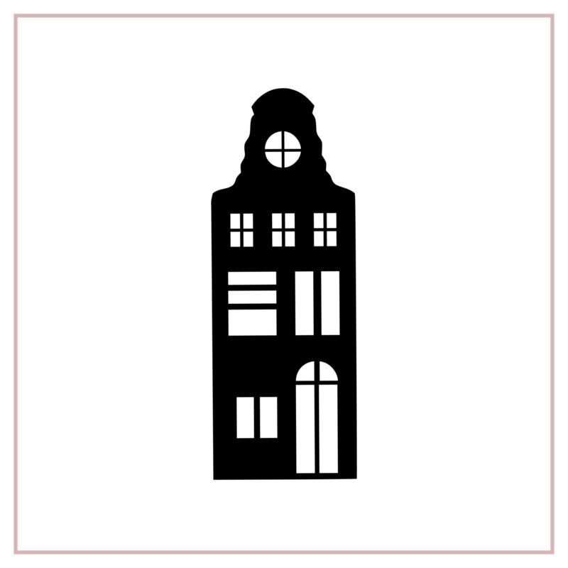 Raamstickers | Huisje 3