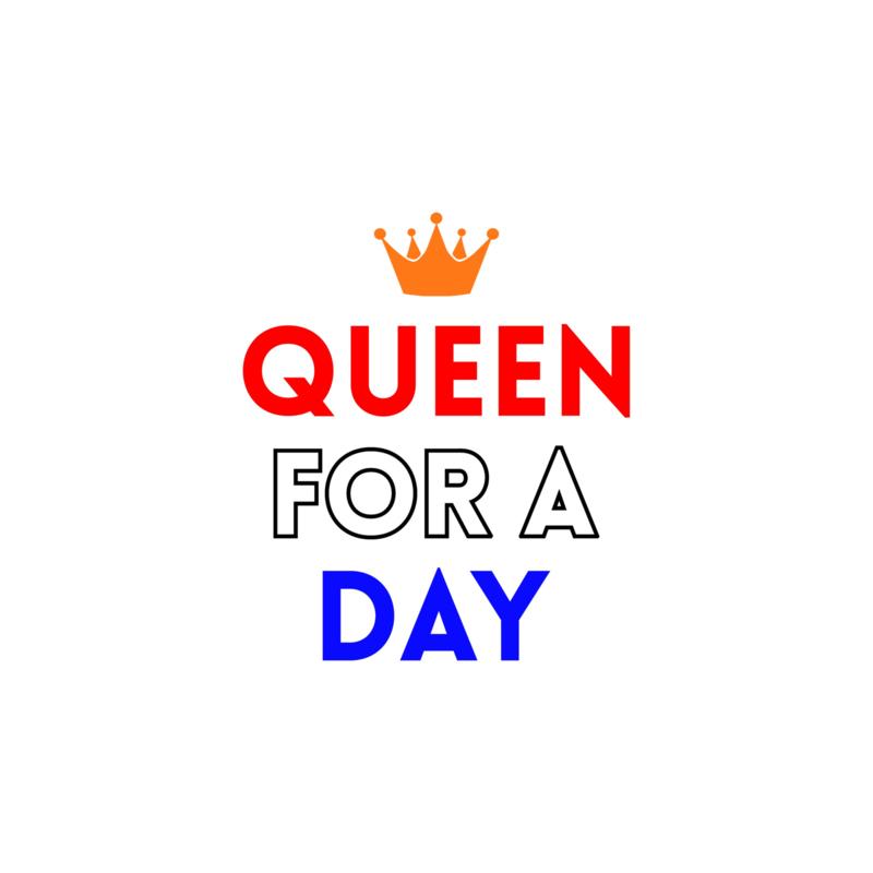 Queen for a day | strijkapplicatie