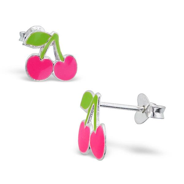 Roze kersjes | oorstekers