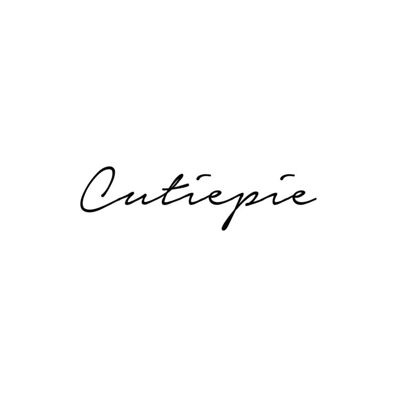Cutiepie | strijkapplicatie