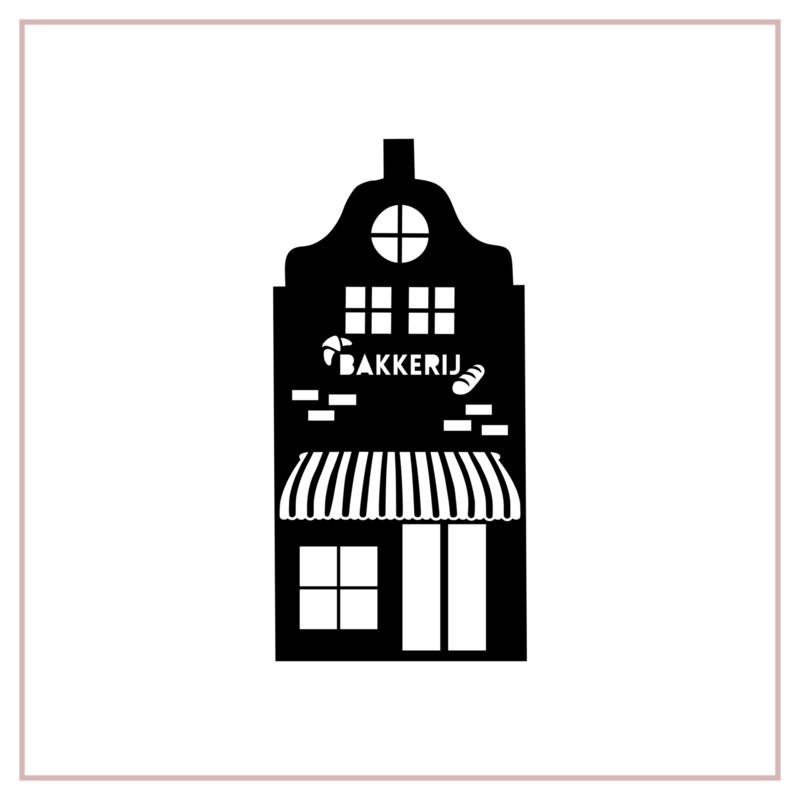 Raamstickers   Bakkerij