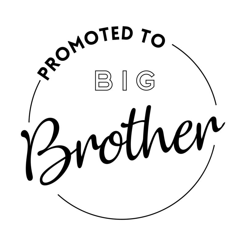Promoted to big brother | strijkapplicatie
