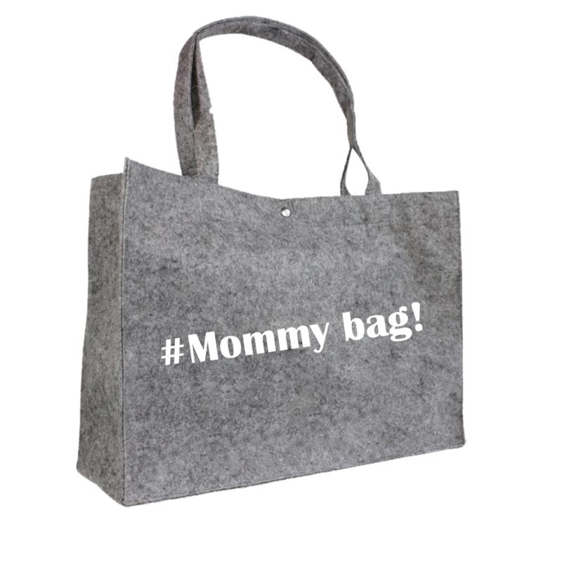 #Mommy bag! | vilten tas
