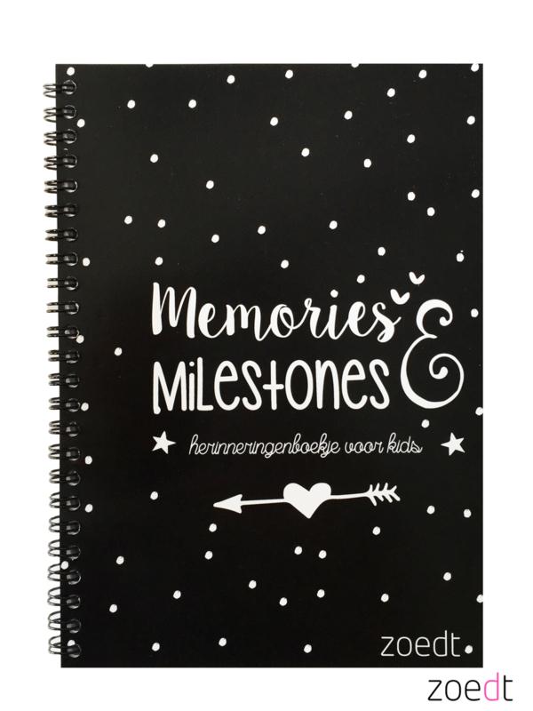 Memories en milestones | invulboek