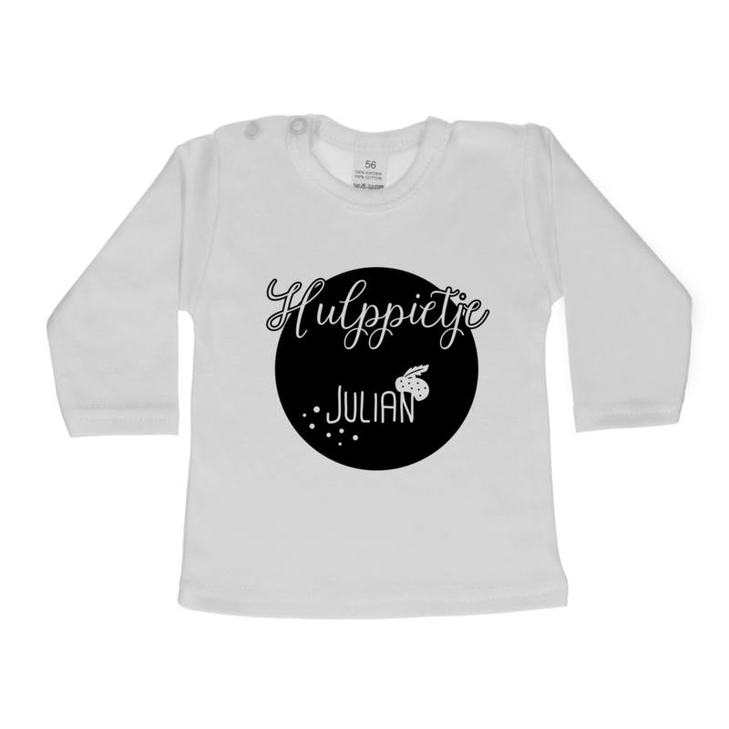 Shirt | Hulppietje 'naam' rond