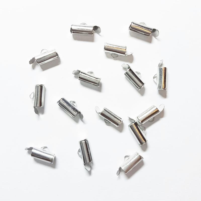 Eindkapjes / slide end tubes 10 mm
