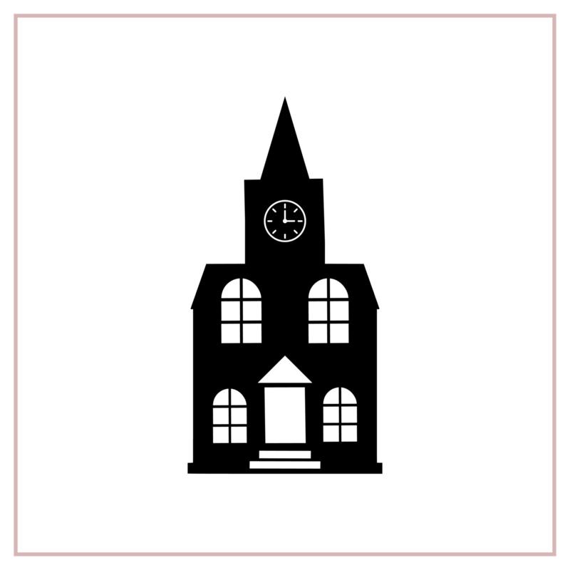 Raamstickers | Kerk