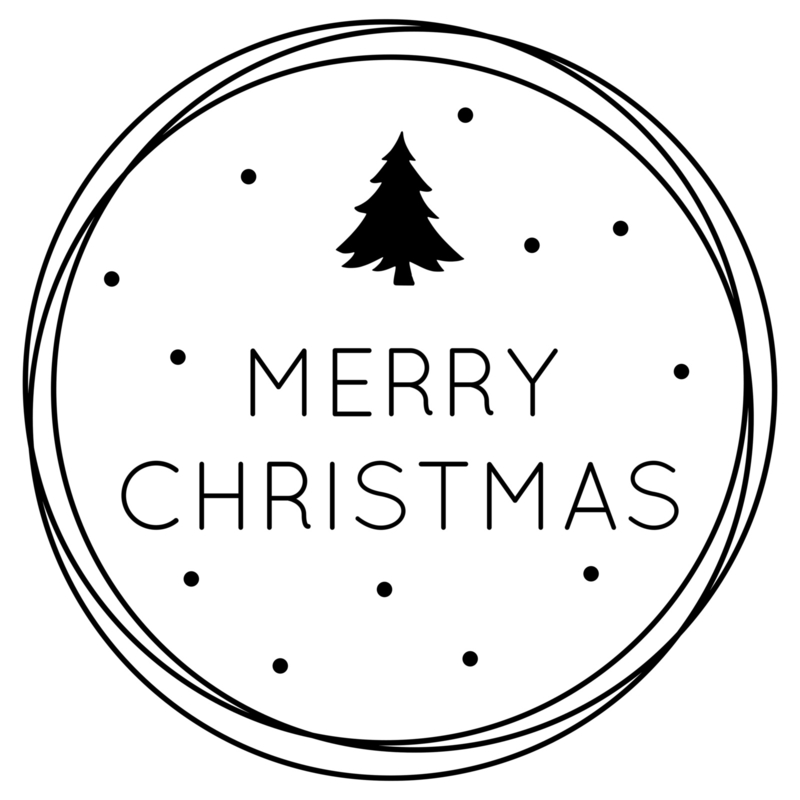 Merry Christmas | raamsticker