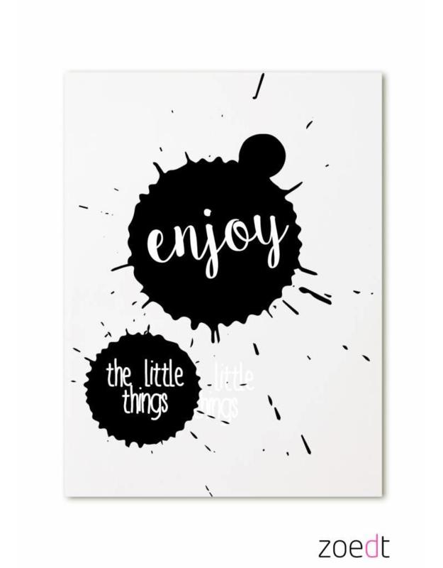 Enjoy the little things | kaart