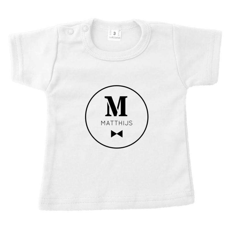 Naam in cirkel | naamshirt