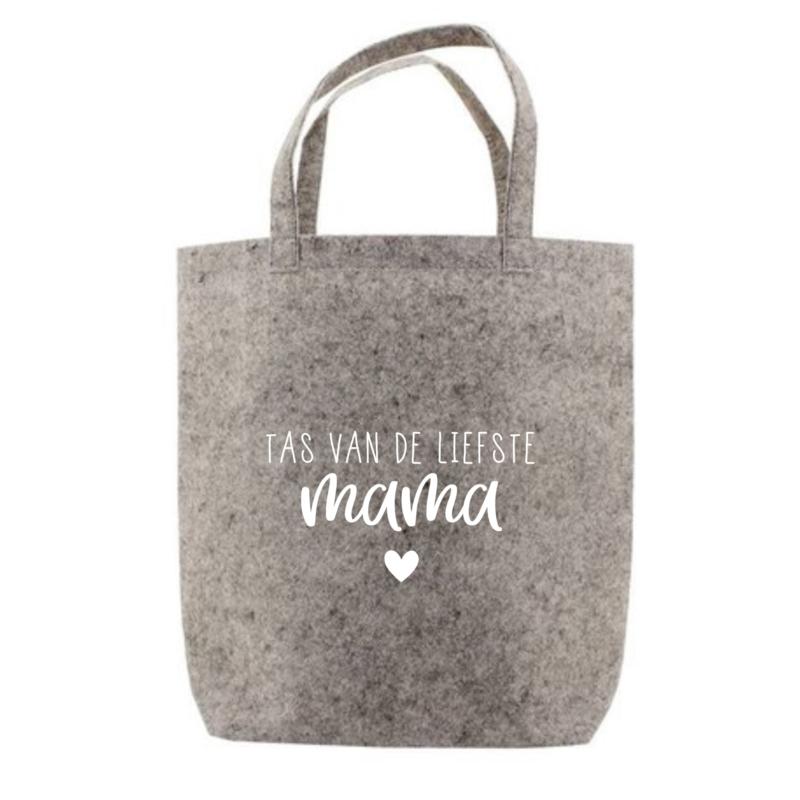 Tas van de liefste mama   tote bag